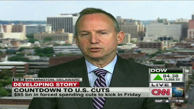 Governor: Forced cuts will hurt economy
