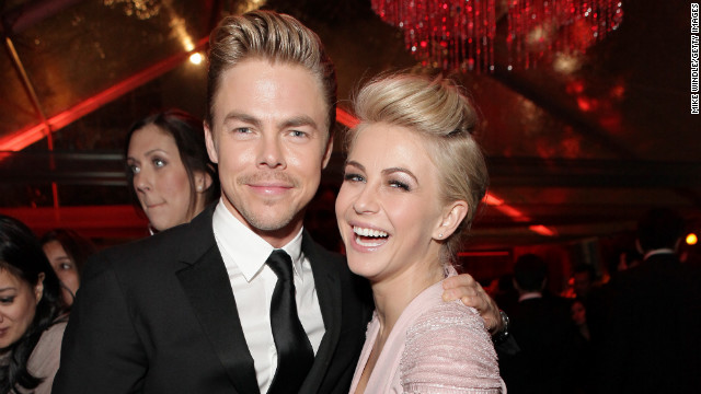 "Derek and Julianne Hough will serve as executive-producers and head choreographers on Starz new series, ""Blackpool."""