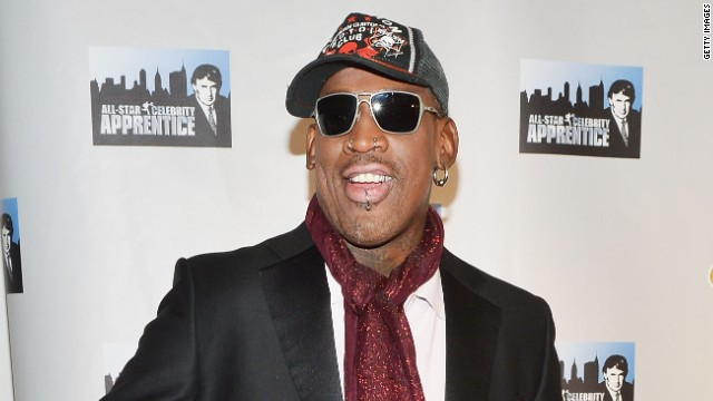 "Dennis Rodman attends the ""Celebrity Apprentice All Stars"" Season 13 Press Conference on October 12, 2012 in New York City"