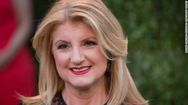 Arianna Huffington, president and editor-in-chief of The Huffington Post Media Group