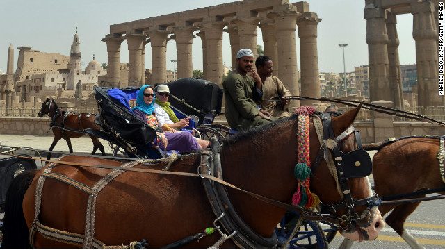 The UNWTO said international tourism generated more revenue for Egypt than the Suez Canal.