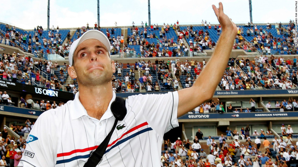 The last American to win a grand slam was Andy Roddick back in 2003. Roddick, who once held the record for the fastest ever serve (155 mph), defeated Juan Carlos Ferrero in the US Open final.