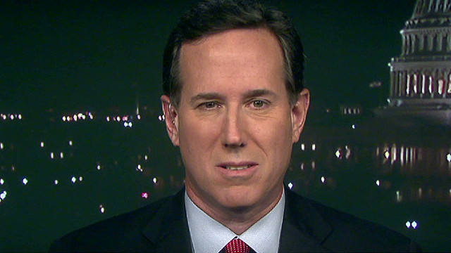 Santorum: Time to rally conservatives
