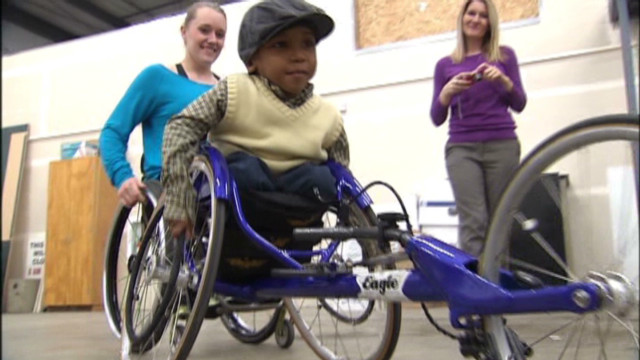 4-year-old wants to race despite disease