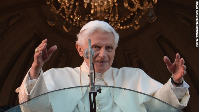 Sun sets on Benedict's papacy