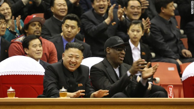 "Rodman: Kim Jong Un is ""my friend"""