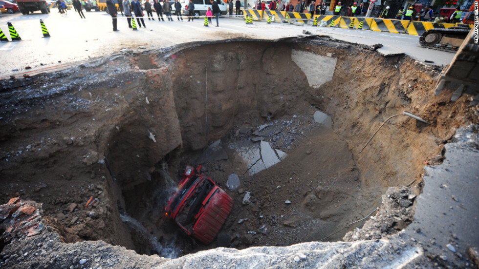 Sinkholes: common, costly and sometimes deadly - CNN