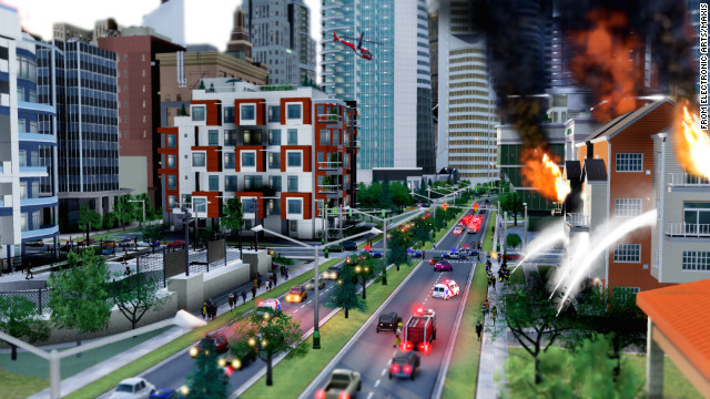 """SimCity"" lets you lay out your very own city from scratch, then mess with it."