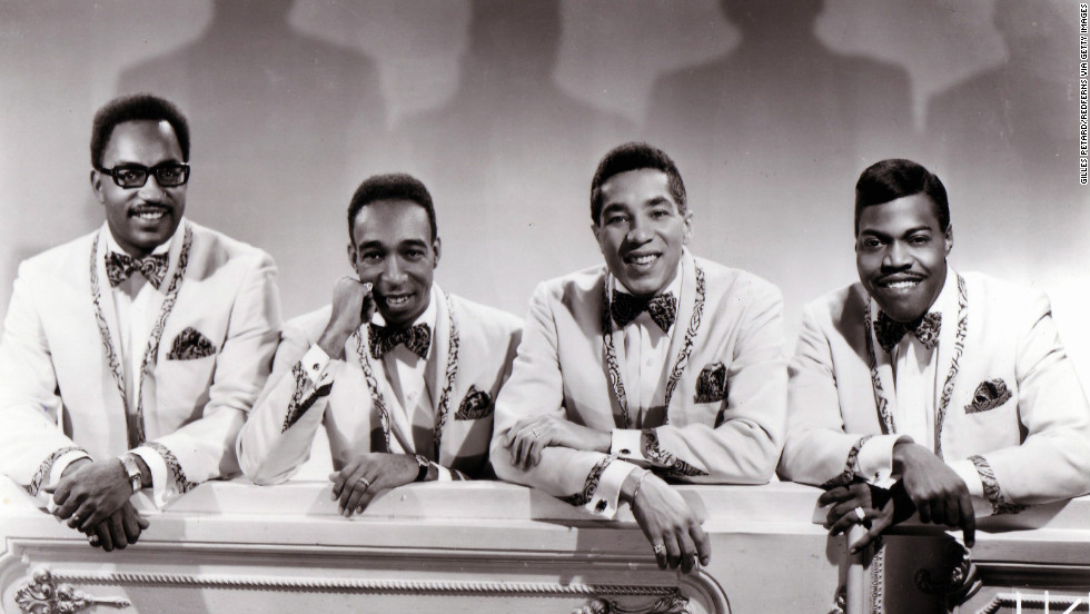 "<a href=""http://www.cnn.com/2013/03/03/showbiz/bobby-rogers-dead/index.html"">Bobby Rogers</a>, one of the original members of Motown staple The Miracles, died on Sunday, March 3, at 73. From left: Bobby Rogers, Ronald White, Smokey Robinson and Pete Moore circa 1965."