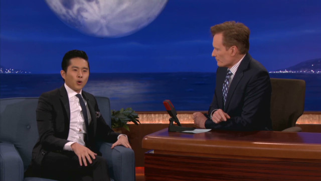 Conan: Justin Chon is catnip to cougars