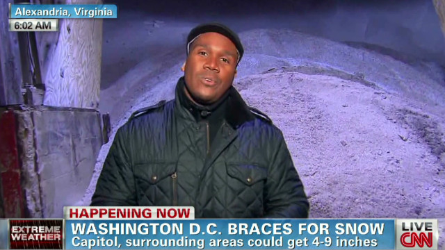 Washington prepares for severe snow