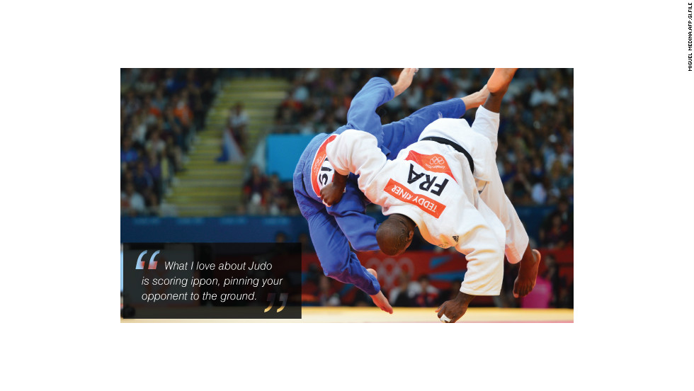Teddy Riner action