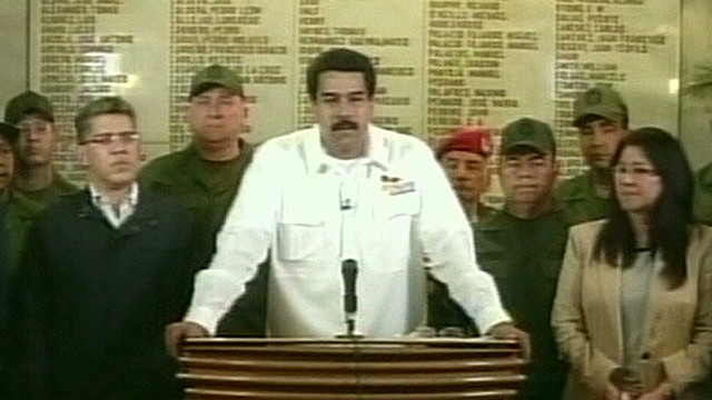 Vice president: Hugo Chavez is dead