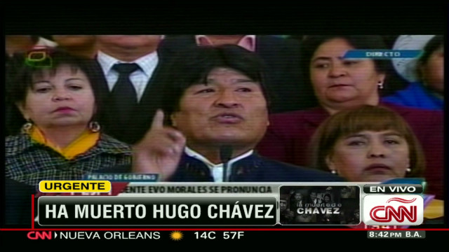 cnnee evo morales after chavez death_00010920.jpg