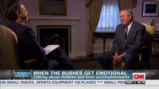 Jeb Bush's family pride