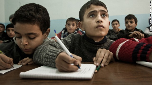 Schools offer counseling to Syrian kids