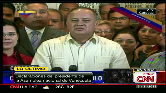 cnnee cabello press conference chavez death_00013628.jpg