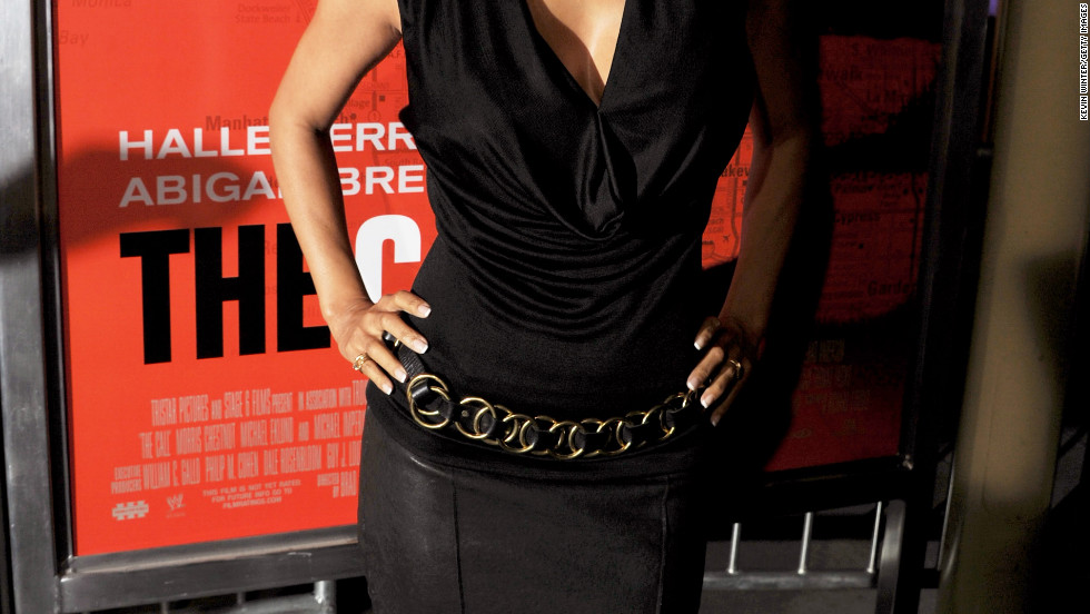 "Halle Berry arrives at the premiere of ""The Call"" in Los Angeles, California."