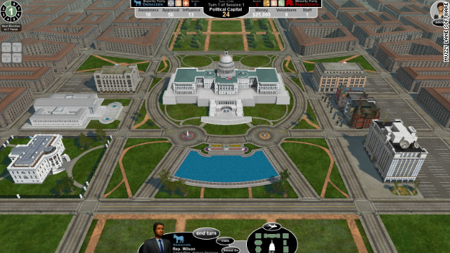 "In ""Government in Action,"" players are newly elected representatives whose party and home district are determined for them."