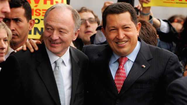Ex-London mayor looks back at Chavez