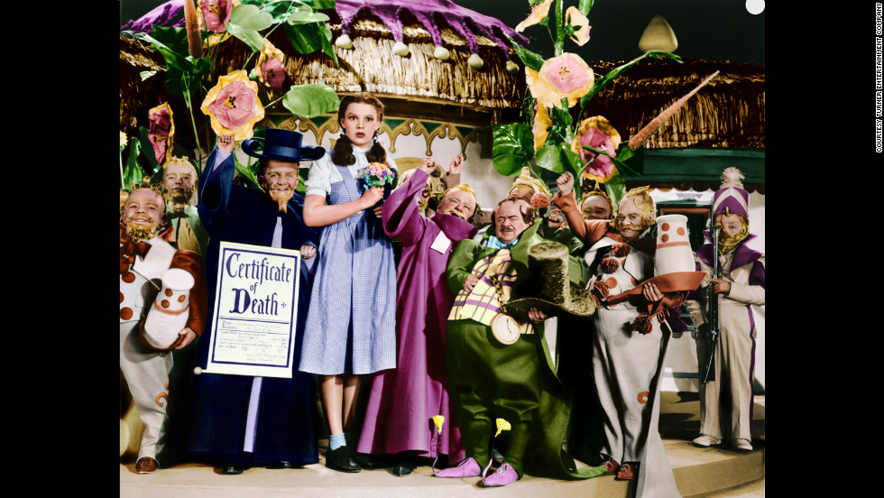 "Moviegoers first went to Oz in 1939. Click through to see behind-the-scenes images and publicity shots from the classic ""The Wizard of Oz."" <a href=""http://www.tcm.com/tcmdb/title/852/The-Wizard-of-Oz/"" target=""_blank"">Check Turner Classic Movies' ""Wizard of Oz"" page to see when the classic will air next.</a>"