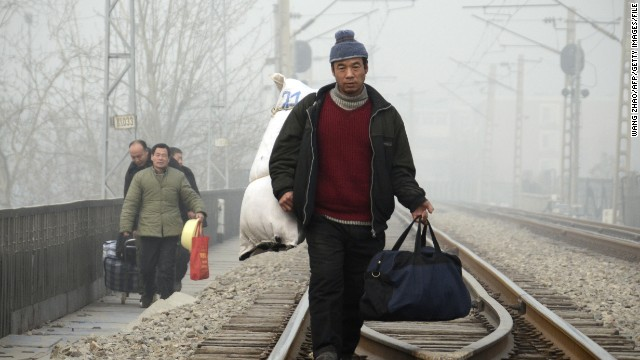 On China: Reverse migration