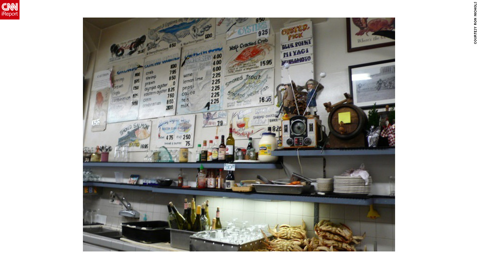 """<a href=""http://www.travelandleisure.com/restaurants/swan-oyster-deopt-san-francisco"" target=""_blank"">Swan Oyster Depot</a> turned 100 in 2012. The Sancimino brothers (six of them!) are always joking around behind the counter. Order cracked crab and a pint of Anchor Steam."" --<a href=""http://ireport.cnn.com/docs/DOC-897762"">Ron Nichols</a>"