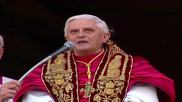 2005: Pope Benedict's first speech