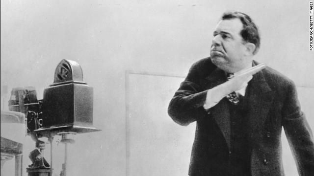 Sen. Huey Long giving a speech in the 1930s.