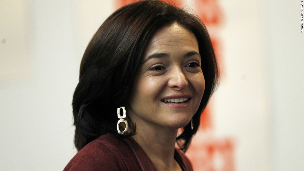 Sheryl K. Sandberg made $31 million in 2011 as Facebook's chief operating officer.