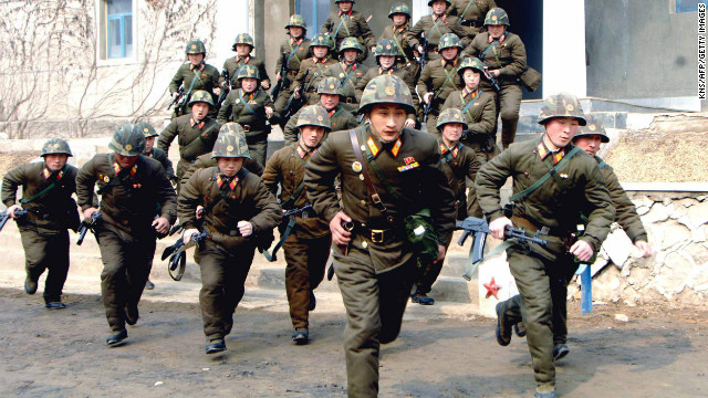 North Korea military on 'highest alert'
