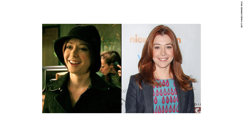 """Buffy the Vampire Slayer's"" Alyson Hannigan occasionally showed up as Logan Echolls' sister Trina. She has since starred on ""How I Met Your Mother"" for nine seasons, and reprised her ""American Pie"" role in 2012's ""American Reunion."""