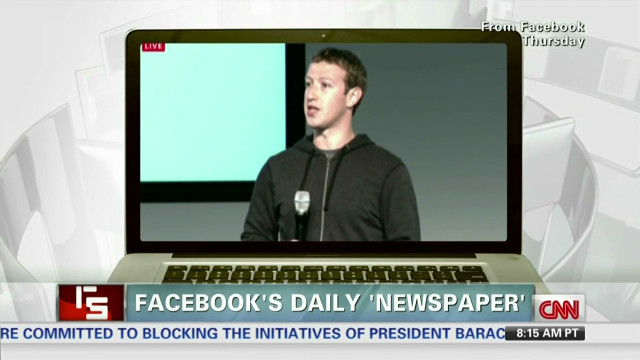 Facebook's daily 'newspaper'