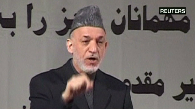 Karzai: Taliban wants U.S. to stay