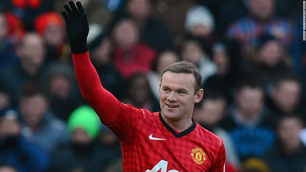 Wayne Rooney had put Manchester United into a two-goal lead against Chelsea before the visitors fought back.