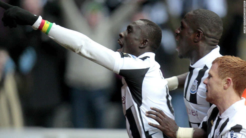 Senegal international Papiss Cisse grabbed an injury time winner as Newcastle United beat Stoke 2-1 at St James' Park.