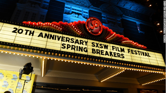 "AUSTIN, TX - MARCH 10:  A general view of atmosphere at the premiere of ""Spring Breakers"" during the 2013 SXSW Music, Film + Interactive Festival at Paramount Theatre on March 10, 2013 in Austin, Texas.  (Photo by Michael Buckner/Getty Images for SXSW)"