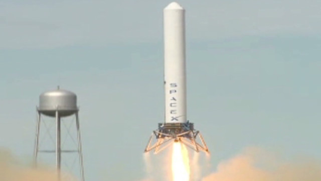 Space X Grasshopper leaps to new record