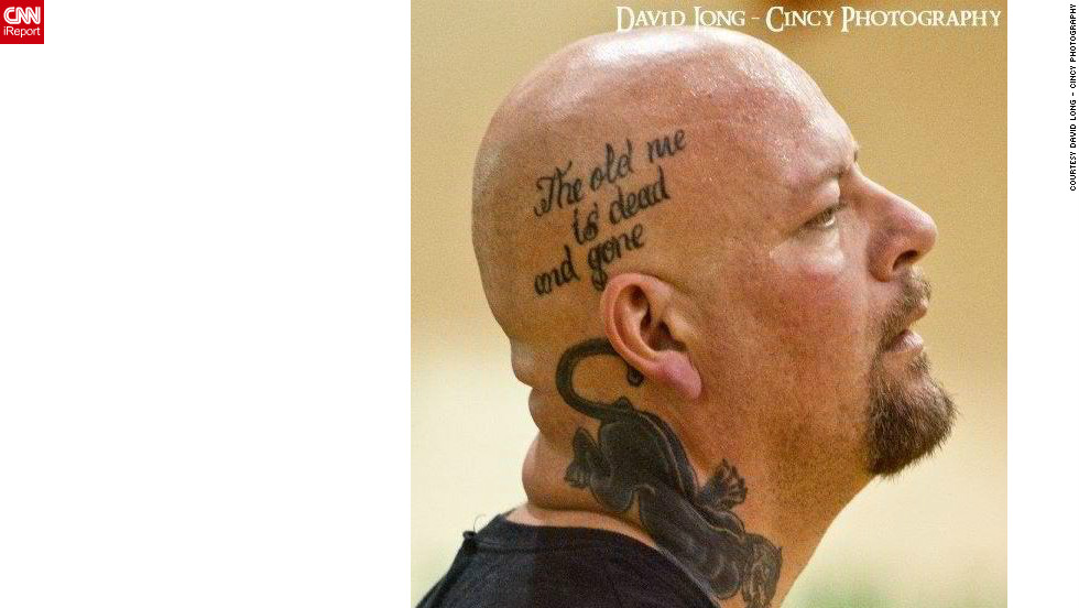 "Drury has a tattoo of T.I.'s ""Dead and Gone"" song lyrics on the side of his head in honor of his weight loss transformation."