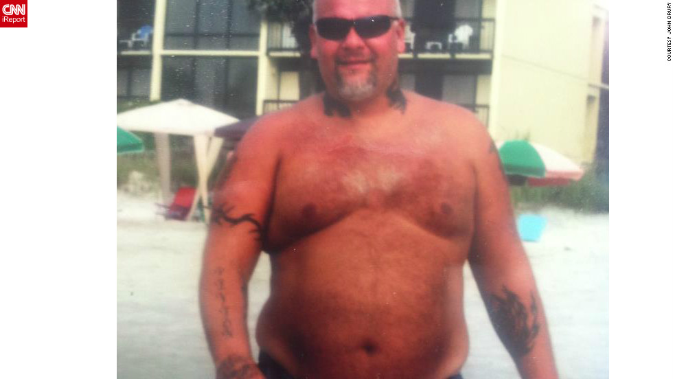 "<a href=""http://ireport.cnn.com/docs/DOC-930771"">Truck driver John Drury </a>used to spend 70 hours a week behind the wheel, eat greasy food at truck stops, and avoid the gym. By the summer of 2010, Drury weighed 400 pounds."