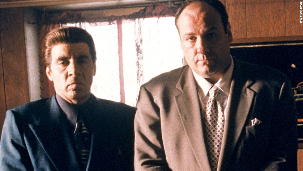"Steven Van Zandt portrayed Silvio, consigliere of Tony Soprano (James Gandolfini), on HBO's ""The Sopranos."" The Bada Bing strip club owner was known for always keeping his cool."