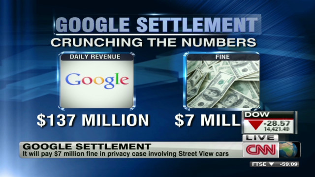 Google to pay $7 million in privacy case