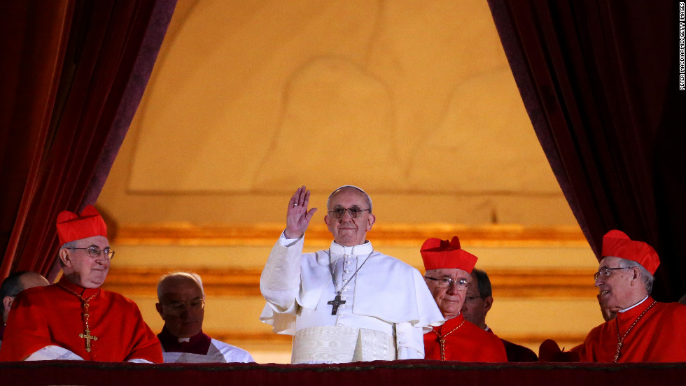 Francis, formerly known as Argentine Cardinal Jorge Mario Bergoglio, was elected the Roman Catholic Church's 266th Pope in March 2013. The first pontiff from Latin America was also the first to take the name Francis.