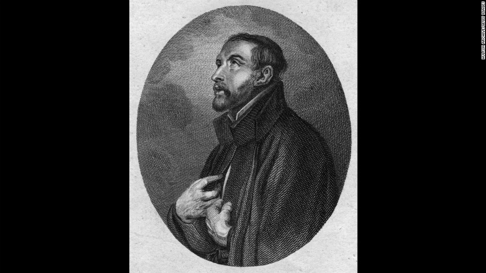 Francis Xavier -- The 16th-century missionary co-founded the Society of Jesus, better known as the Jesuits.