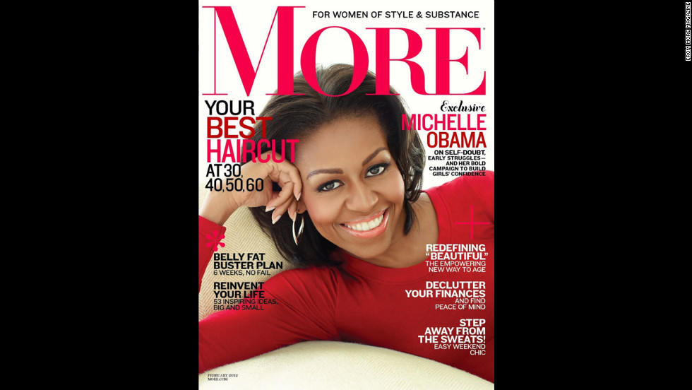 Obama on the cover of More.