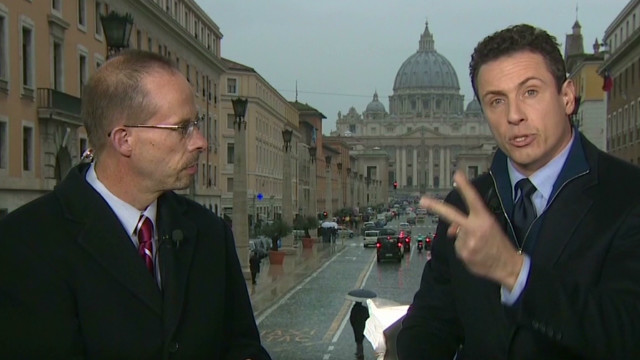 Chris Cuomo on his pope prediction