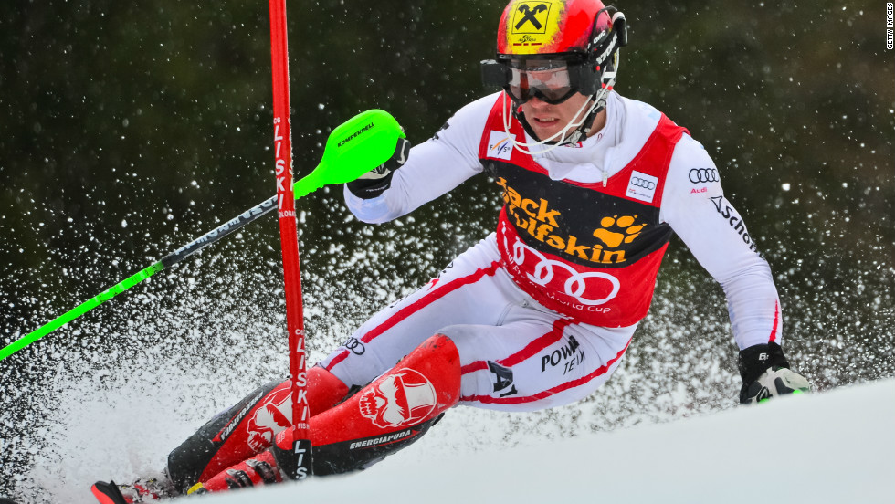 Marcel Hirscher recorded a run of 18 podium appearances in 19 races in the two technical events -- Slalom and giant slalom, matching the legendary Alberto Tomba's record in the process.