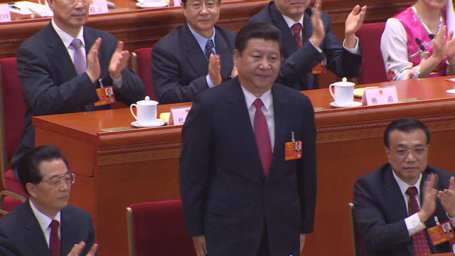 Pomp, party politics for Xi Jinping