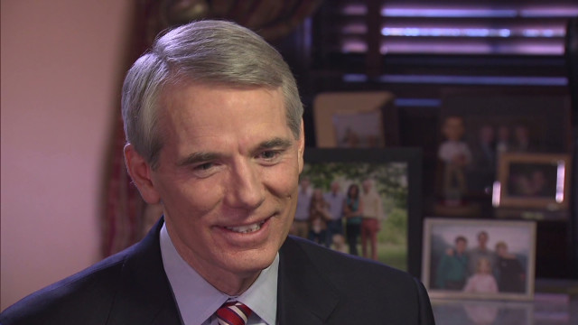 Sen. Portman told Romney his son was gay