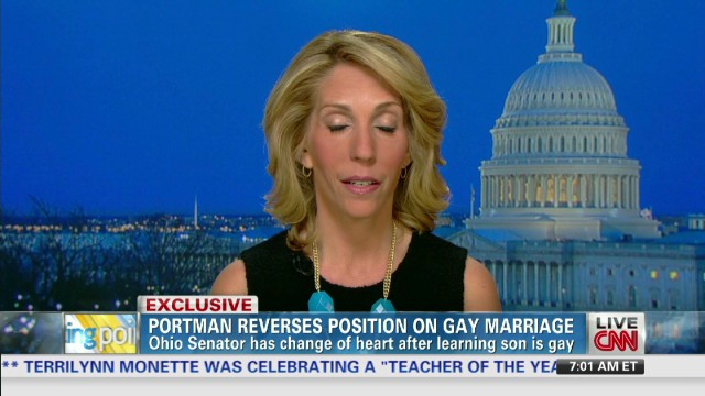 Sen. Rob Portman backs same-sex marriage